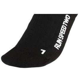 X-Socks Run Speed Two Calcetines Hombre, negro